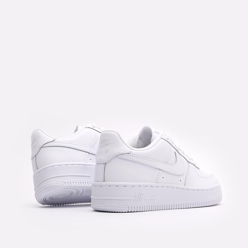 женские белые  кроссовки nike air force 1 le (gs) DH2920-111 - цена, описание, фото 3