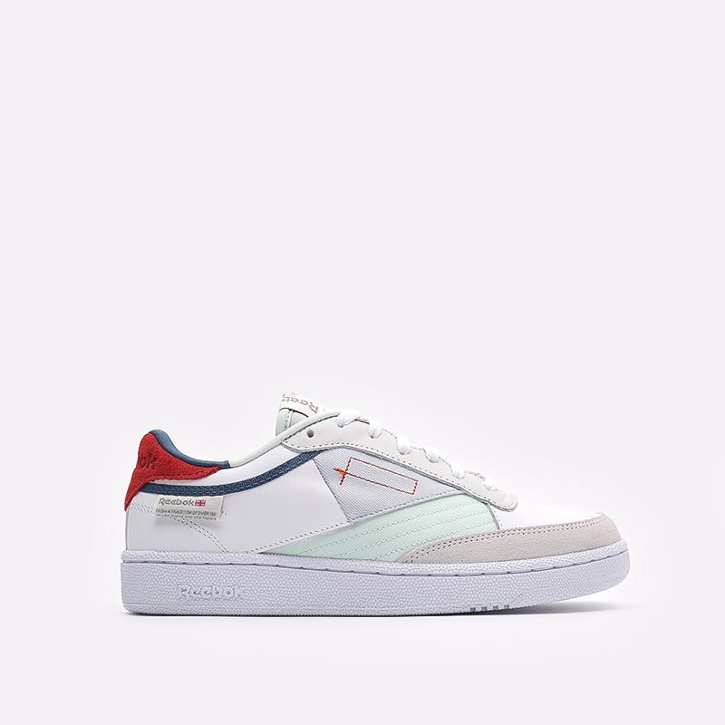 мужские белые  кроссовки reebok club c 85 FY7500 - цена, описание, фото 1