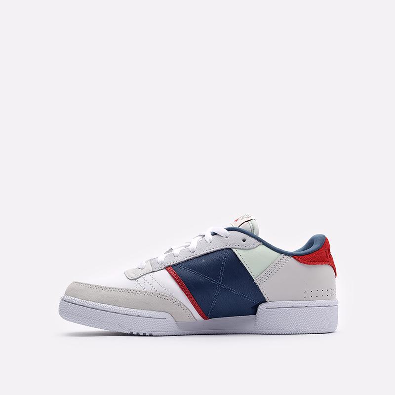 мужские белые  кроссовки reebok club c 85 FY7500 - цена, описание, фото 2
