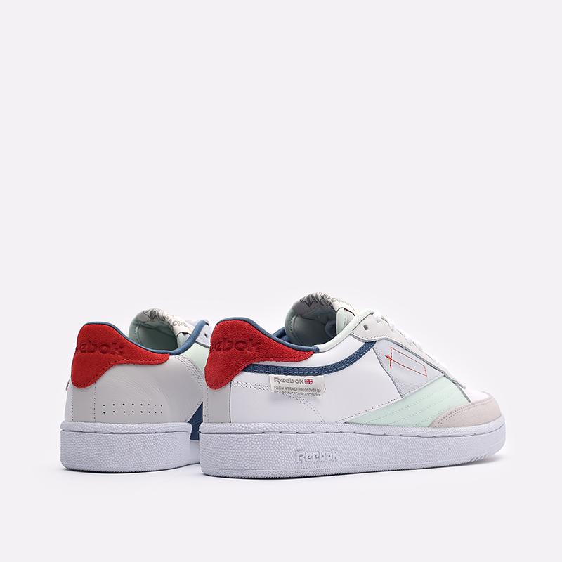 мужские белые  кроссовки reebok club c 85 FY7500 - цена, описание, фото 3