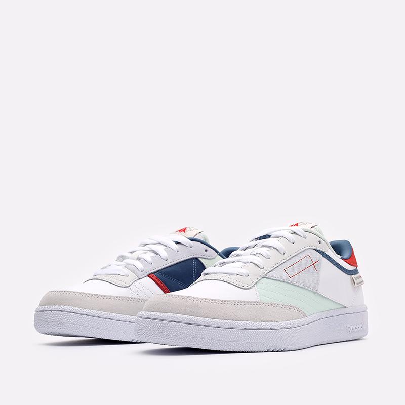 мужские белые  кроссовки reebok club c 85 FY7500 - цена, описание, фото 4