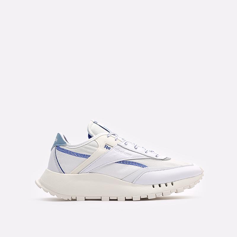 мужские белые  кроссовки reebok cl legacy pure FZ2920 - цена, описание, фото 1