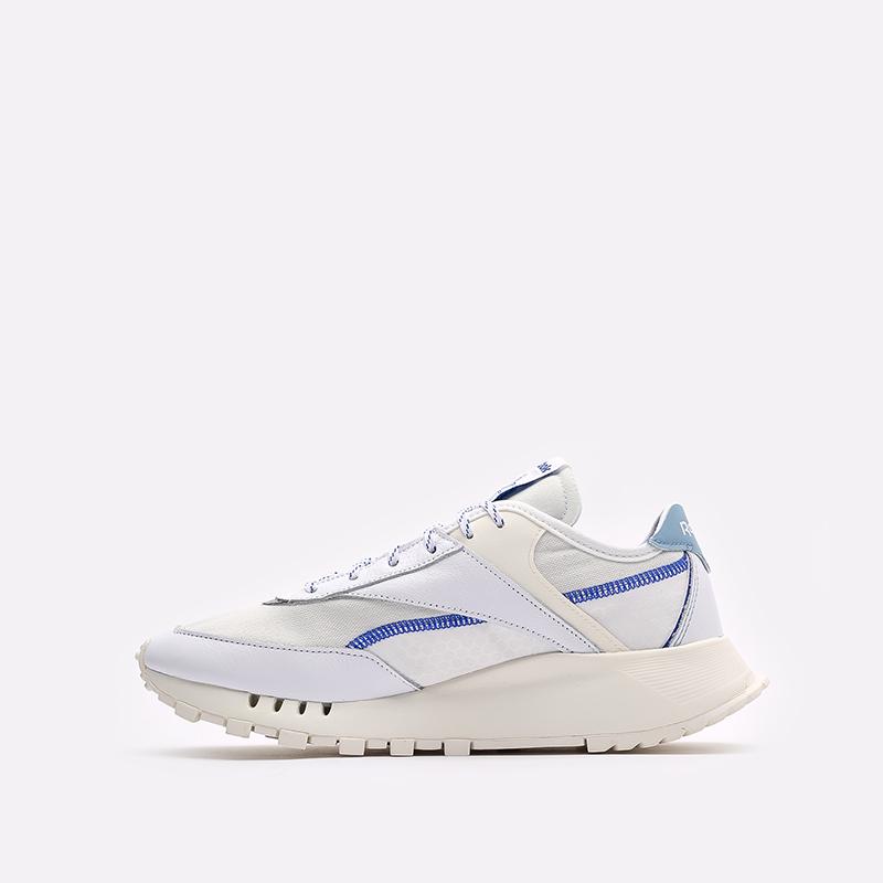 мужские белые  кроссовки reebok cl legacy pure FZ2920 - цена, описание, фото 2