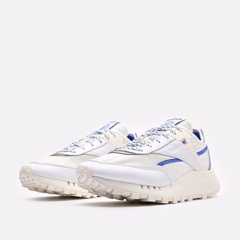 мужские белые  кроссовки reebok cl legacy pure FZ2920 - цена, описание, фото 4