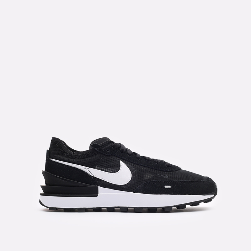 женские черные кроссовки Nike WMNS Waffle One DC2533-001 - цена, описание, фото 1
