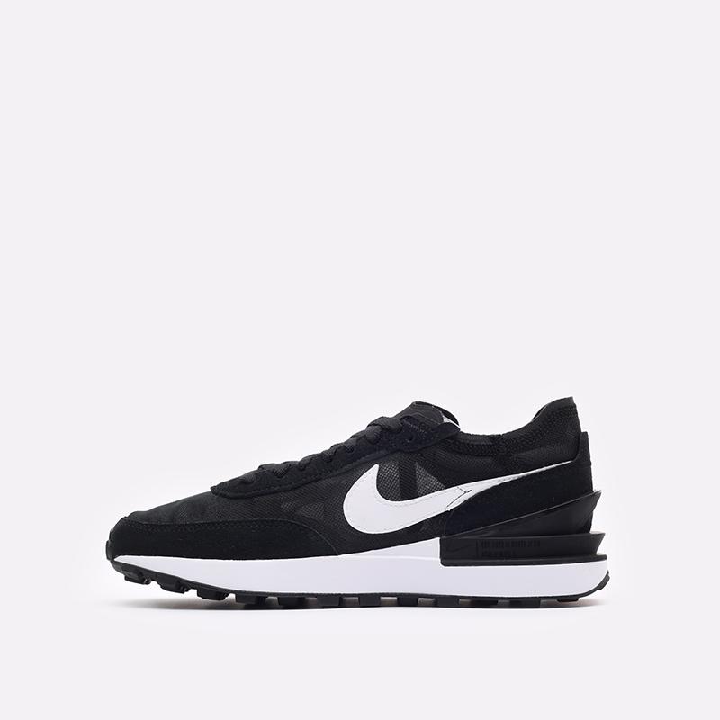 женские черные кроссовки Nike WMNS Waffle One DC2533-001 - цена, описание, фото 2