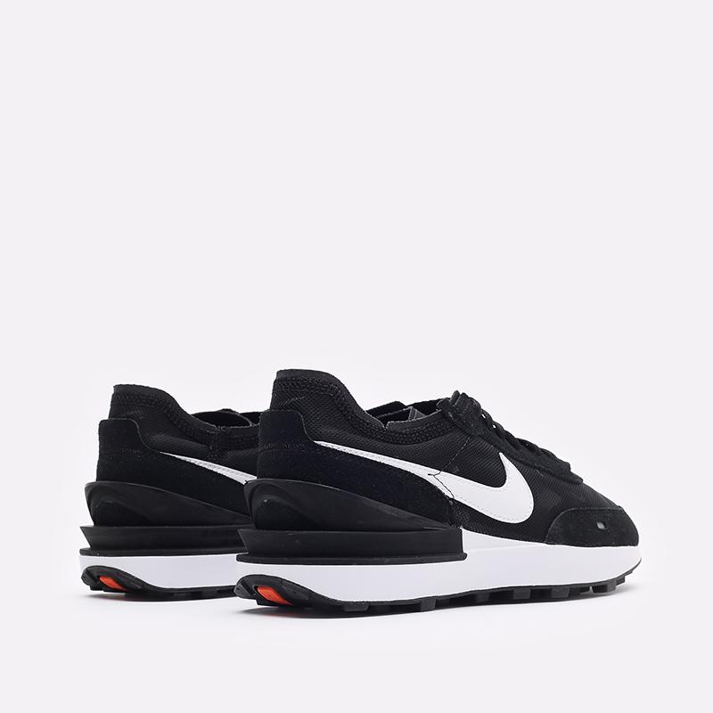 женские черные кроссовки Nike WMNS Waffle One DC2533-001 - цена, описание, фото 3