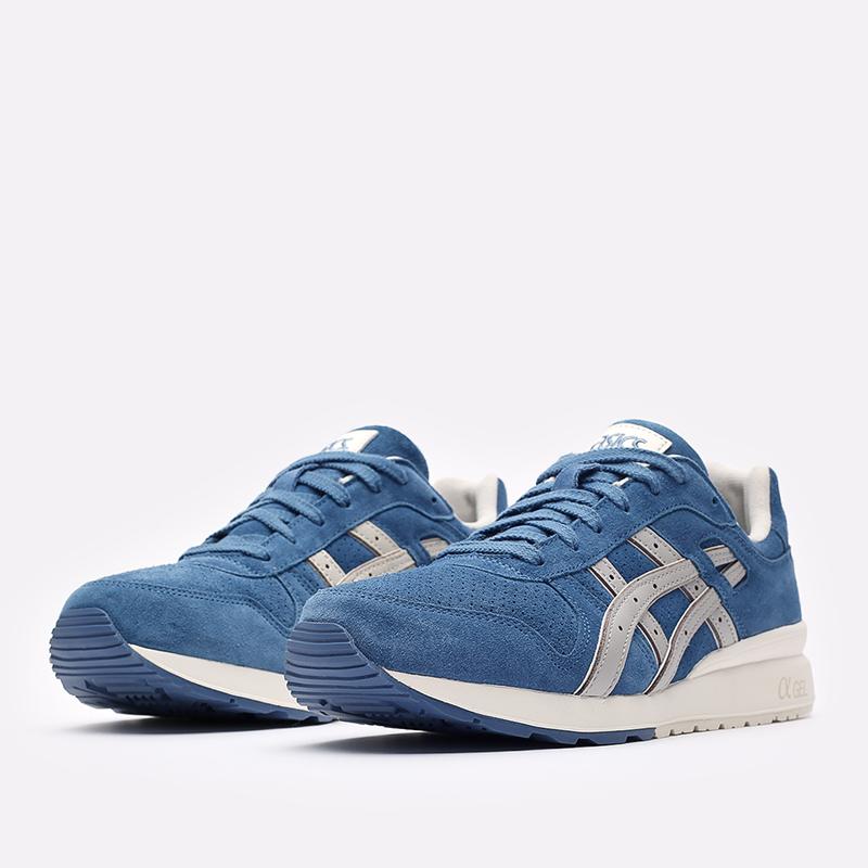 мужские синие  кроссовки asics gt-ii 1201a387-400 - цена, описание, фото 4