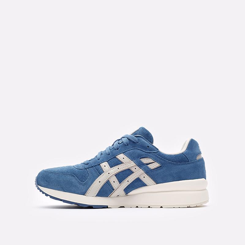 мужские синие  кроссовки asics gt-ii 1201a387-400 - цена, описание, фото 2