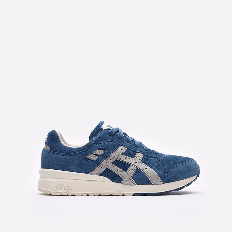 мужские синие  кроссовки asics gt-ii 1201a387-400 - цена, описание, фото 1