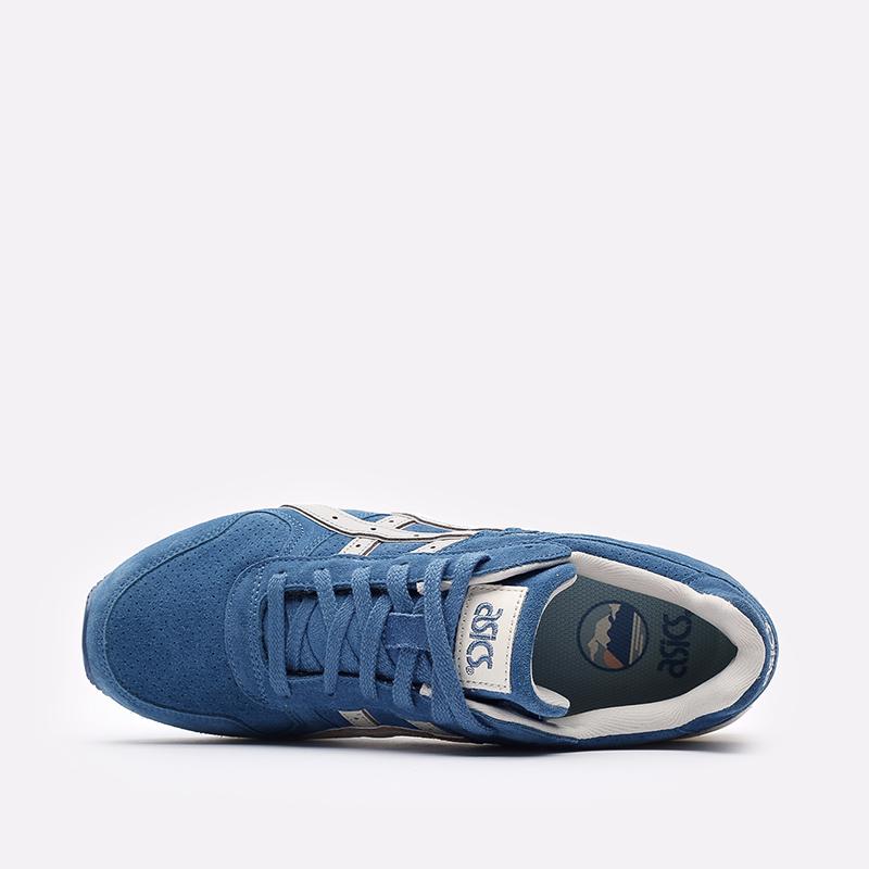 мужские синие  кроссовки asics gt-ii 1201a387-400 - цена, описание, фото 6