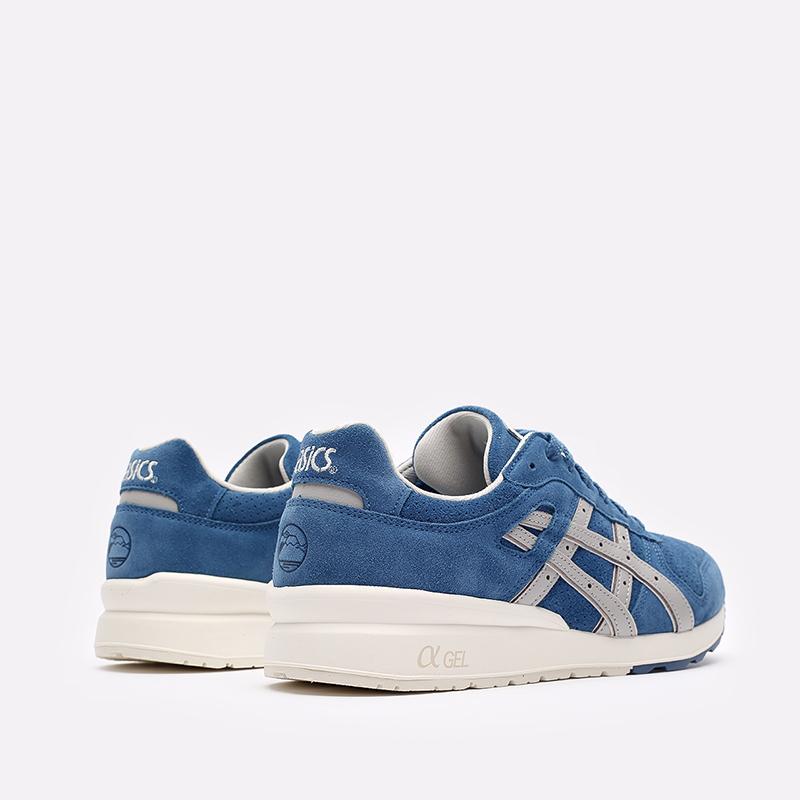 мужские синие  кроссовки asics gt-ii 1201a387-400 - цена, описание, фото 3