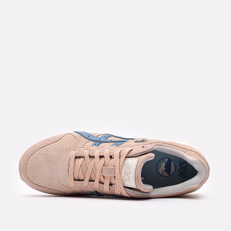 мужские розовые  кроссовки asics gt-ii 1201a387-700 - цена, описание, фото 6