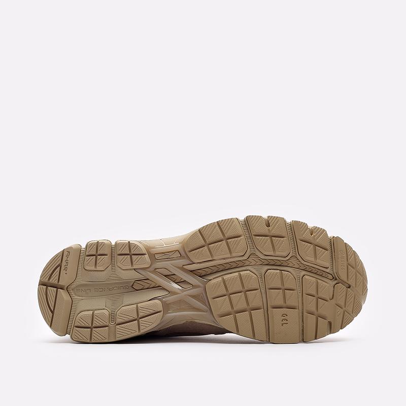 мужские бежевые  кроссовки asics gel-kayano trainer 21 1201A067-202 - цена, описание, фото 5