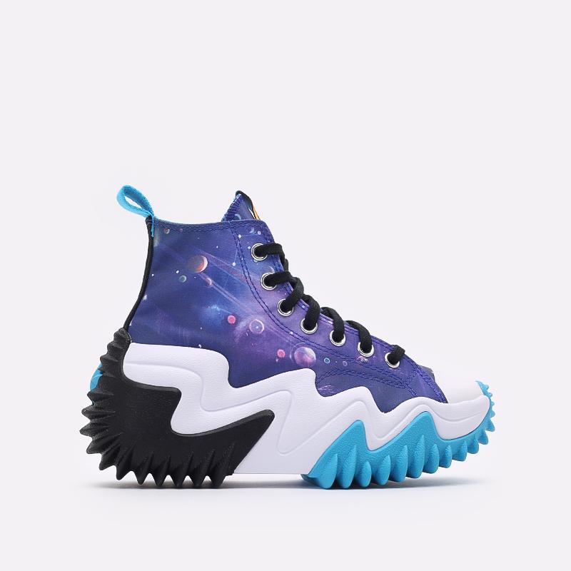 разноцветные кеды Converse x Space Jam A New Legacy Run Star Motion Hi 172488 - цена, описание, фото 1