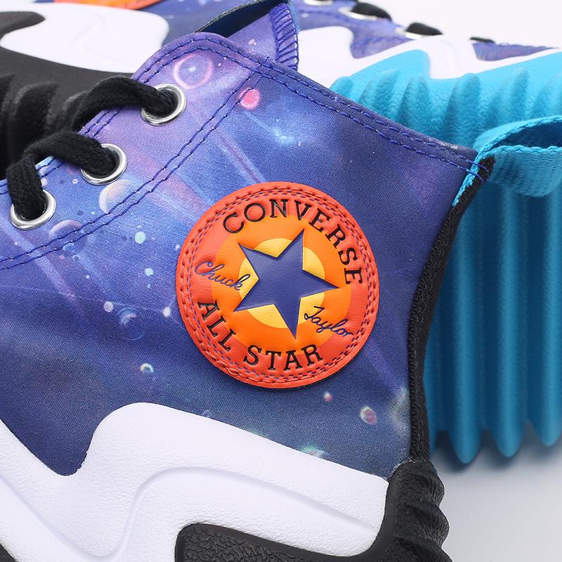 разноцветные кеды Converse x Space Jam A New Legacy Run Star Motion Hi 172488 - цена, описание, фото 6