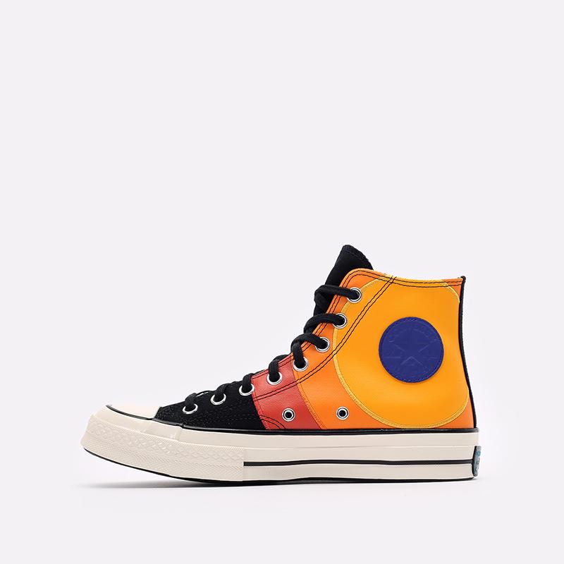 разноцветные  кеды converse x space jam a new legacy chuck 70 hi 172482 - цена, описание, фото 2