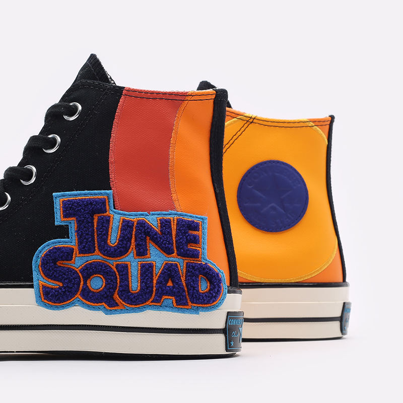 разноцветные  кеды converse x space jam a new legacy chuck 70 hi 172482 - цена, описание, фото 5