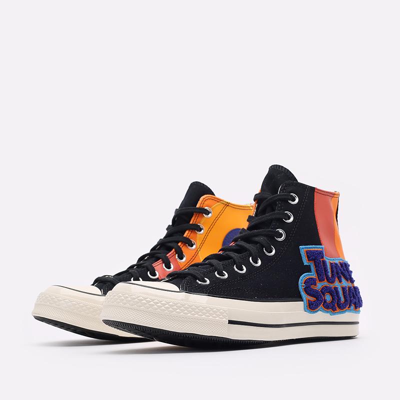 разноцветные  кеды converse x space jam a new legacy chuck 70 hi 172482 - цена, описание, фото 4