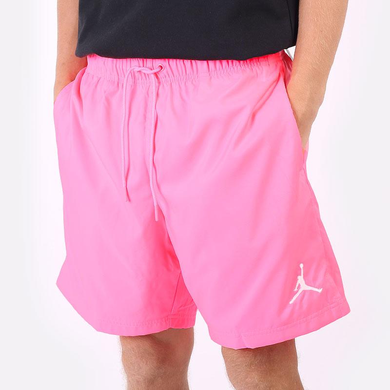 мужские розовые  шорты  jordan poolside short CZ4751-675 - цена, описание, фото 1