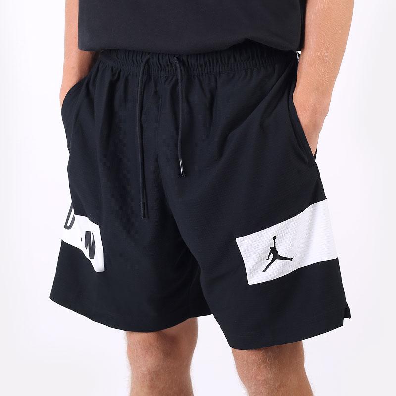 мужские черные шорты  Jordan Dri-FIT Air Shorts CZ4771-010 - цена, описание, фото 1
