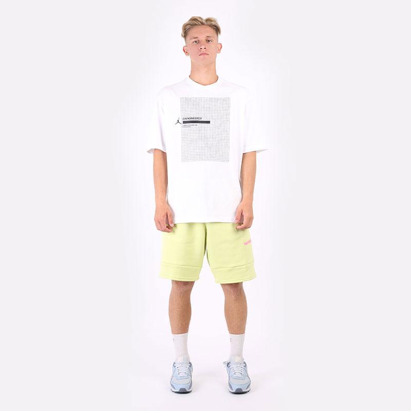 мужскую белую  футболка jordan 23 engineered short-sleeve t-shirt DA9869-100 - цена, описание, фото 5