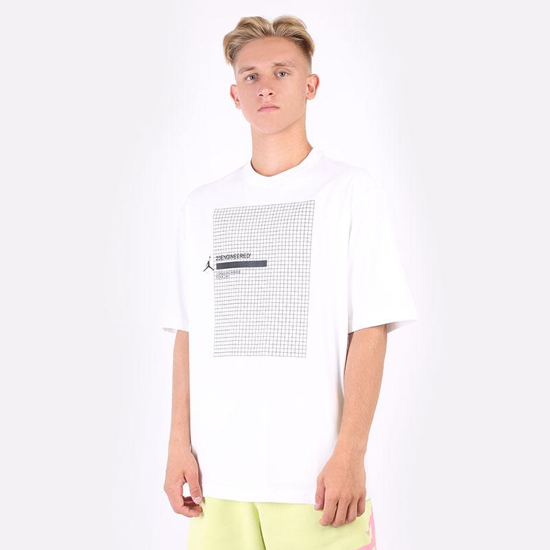 мужскую белую  футболка jordan 23 engineered short-sleeve t-shirt DA9869-100 - цена, описание, фото 1