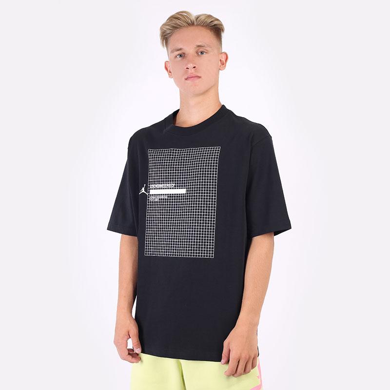 мужскую черную  футболка jordan 23 engineered short-sleeve t-shirt DA9869-010 - цена, описание, фото 1