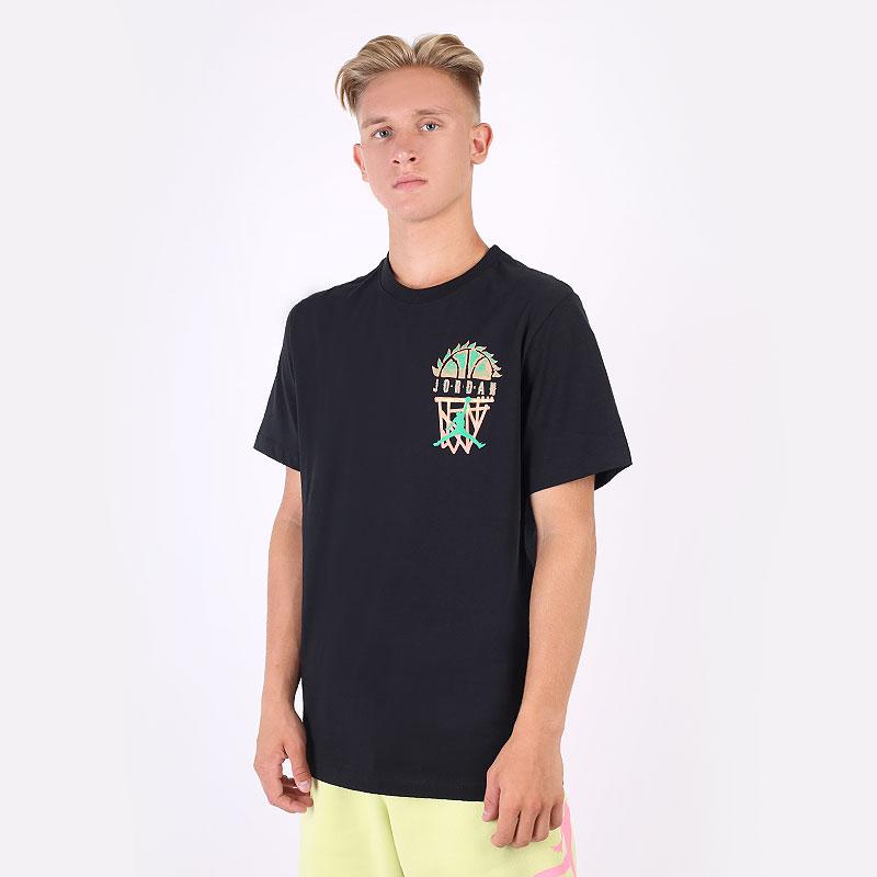 мужская черная футболка Jordan  Sport DNA Tee CZ8059-010 - цена, описание, фото 1
