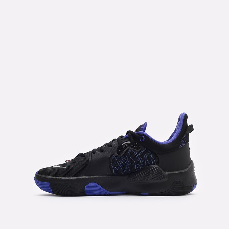 чёрные  кроссовки nike pg 5 CW3143-004 - цена, описание, фото 2
