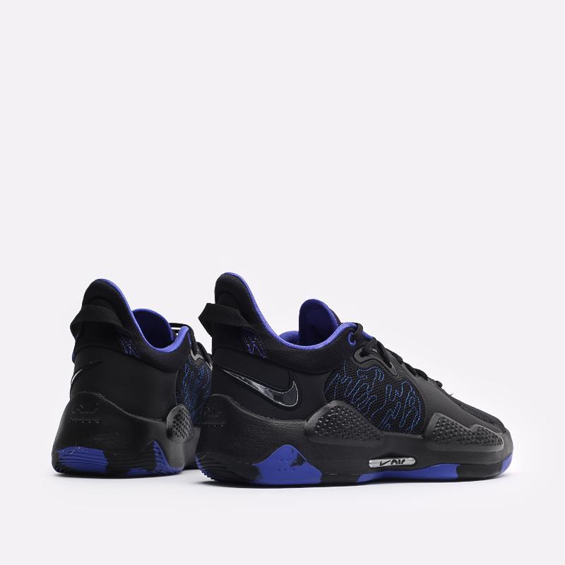 чёрные  кроссовки nike pg 5 CW3143-004 - цена, описание, фото 3