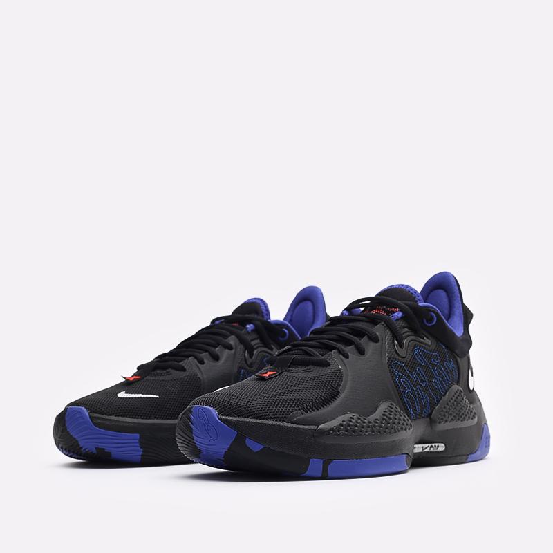 чёрные  кроссовки nike pg 5 CW3143-004 - цена, описание, фото 4