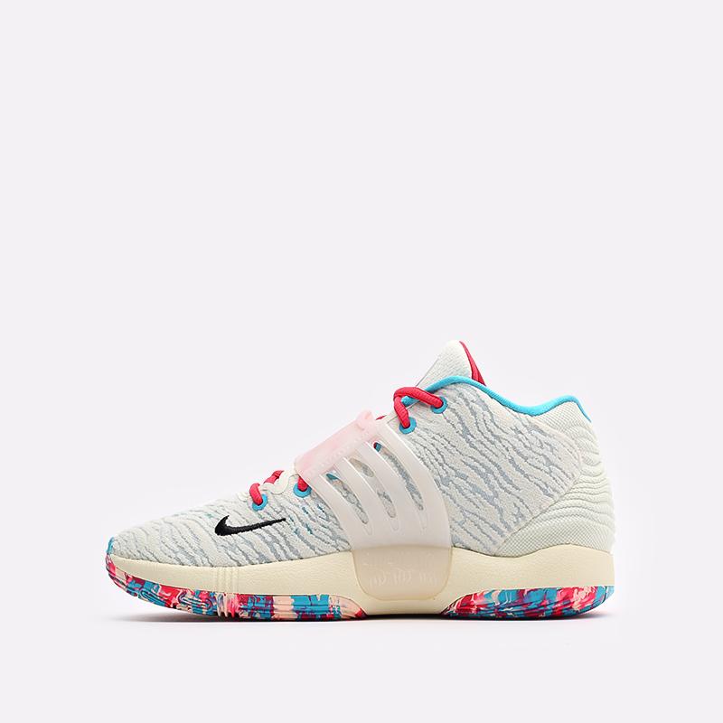 бежевые баскетбольные кроссовки Nike KD14 CW3935-700 - цена, описание, фото 2