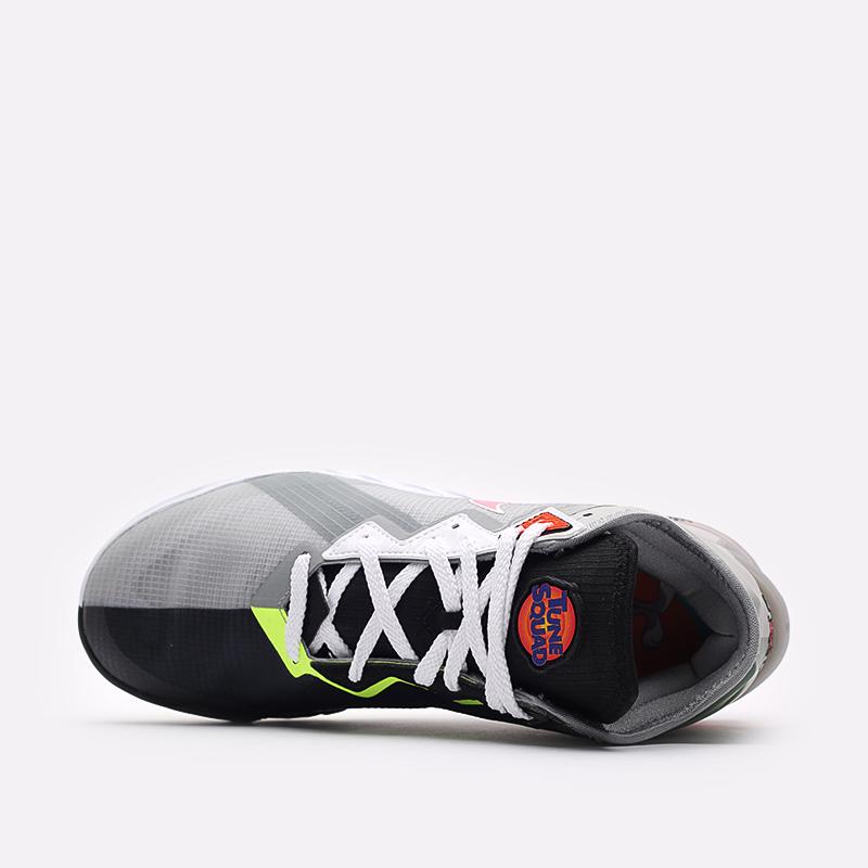 мужские серые  кроссовки nike lebron xviii low CV7562-005 - цена, описание, фото 6