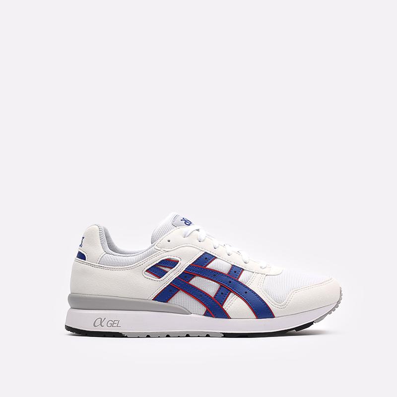 мужские белые кроссовки ASICS GT-II 1201A253-100 - цена, описание, фото 1