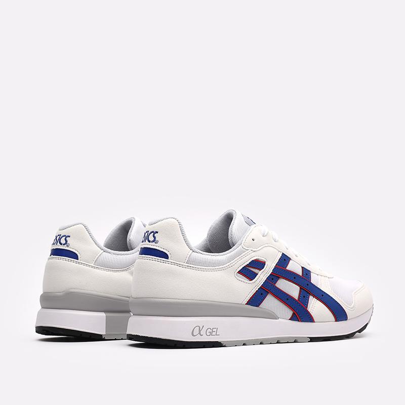мужские белые кроссовки ASICS GT-II 1201A253-100 - цена, описание, фото 3