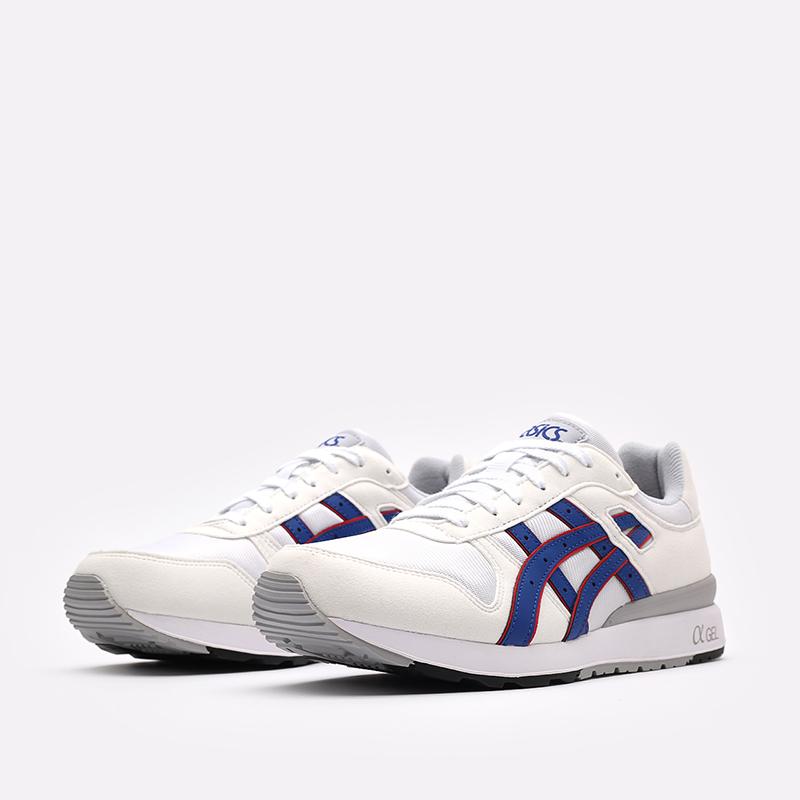 мужские белые кроссовки ASICS GT-II 1201A253-100 - цена, описание, фото 4