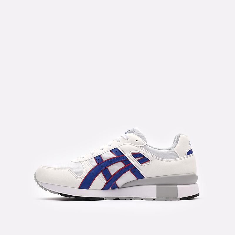 мужские белые кроссовки ASICS GT-II 1201A253-100 - цена, описание, фото 2
