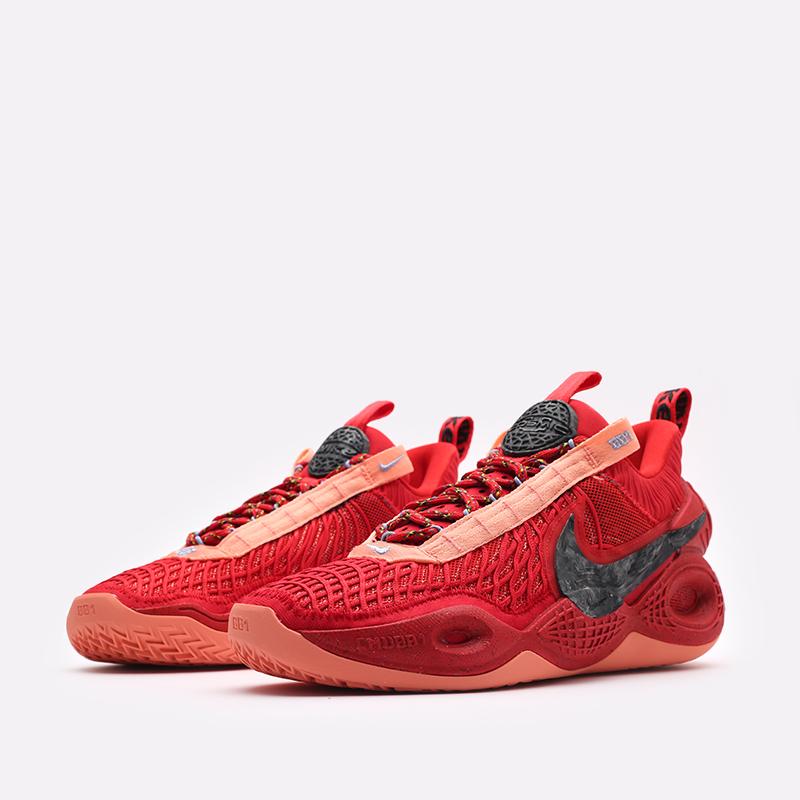 красные баскетбольные кроссовки Nike Cosmic Unity TB DM4426-600 - цена, описание, фото 4