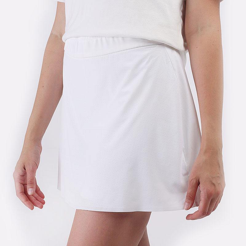 женская белая юбка Nike Flex Ace Women's 38cm Golf Skirt CU9362-100 - цена, описание, фото 1