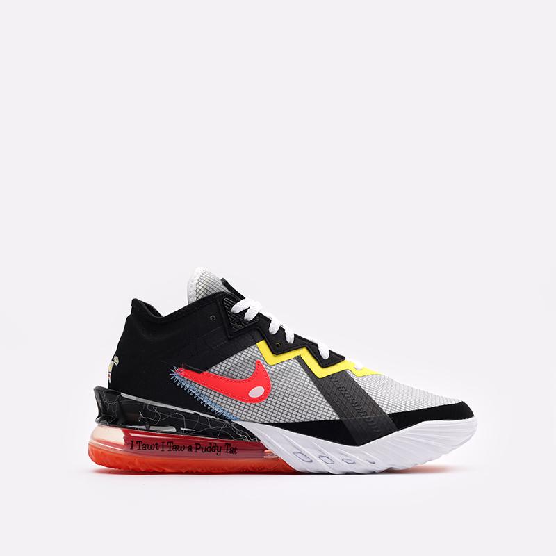 мужские белые кроссовки Nike Lebron XVIII Low CV7562-103 - цена, описание, фото 1