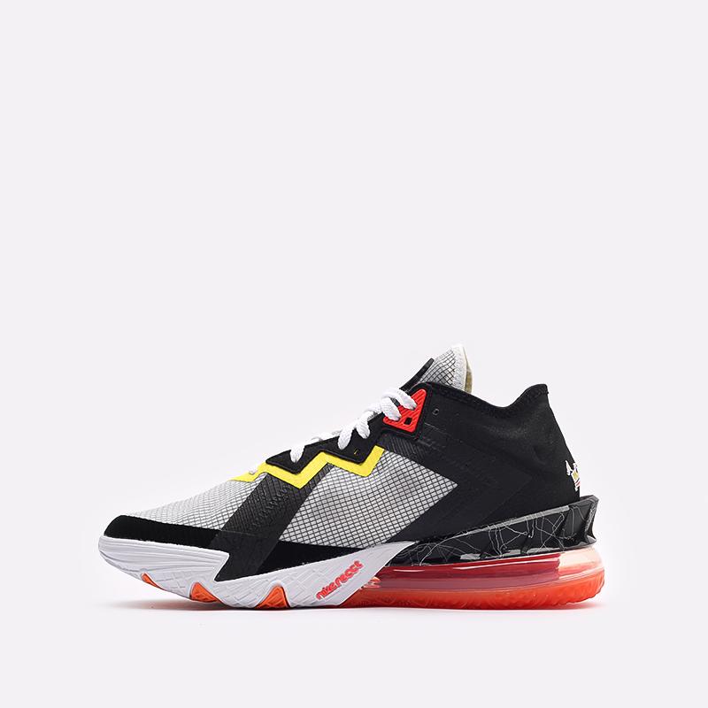 мужские белые кроссовки Nike Lebron XVIII Low CV7562-103 - цена, описание, фото 2