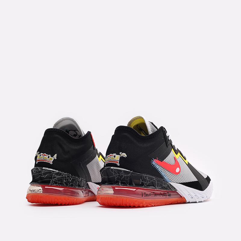 мужские белые кроссовки Nike Lebron XVIII Low CV7562-103 - цена, описание, фото 3