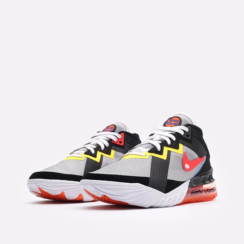 мужские белые кроссовки Nike Lebron XVIII Low CV7562-103 - цена, описание, фото 4