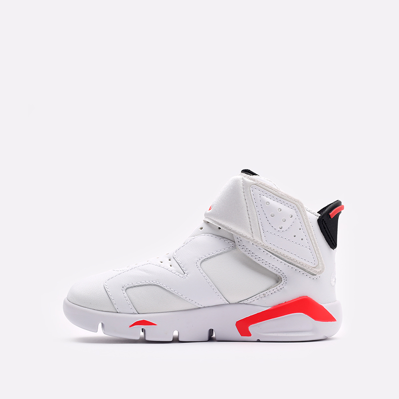 детские белые  кроссовки jordan 6 retro little flex ps CT4416-101 - цена, описание, фото 2