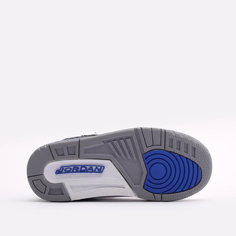 детские белые кроссовки Jordan 3 Retro (PS) 429487-145 - цена, описание, фото 3