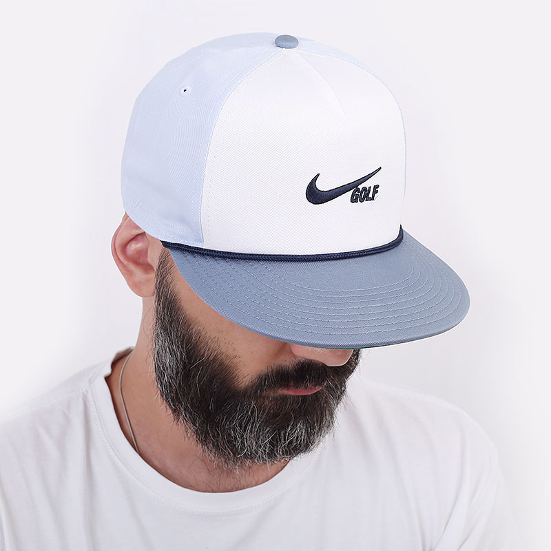 голубую  кепка nike aerobill retro72 CU9889-100 - цена, описание, фото 1