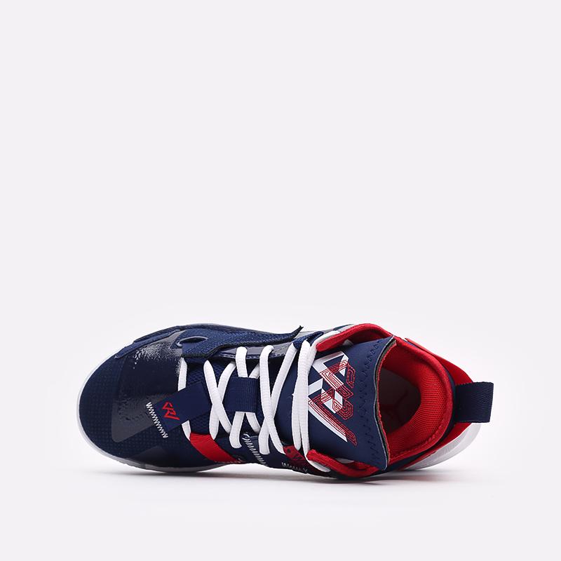 женские синие баскетбольные кроссовки Jordan Why Not Zero.4 (GS) DD9659-400 - цена, описание, фото 6