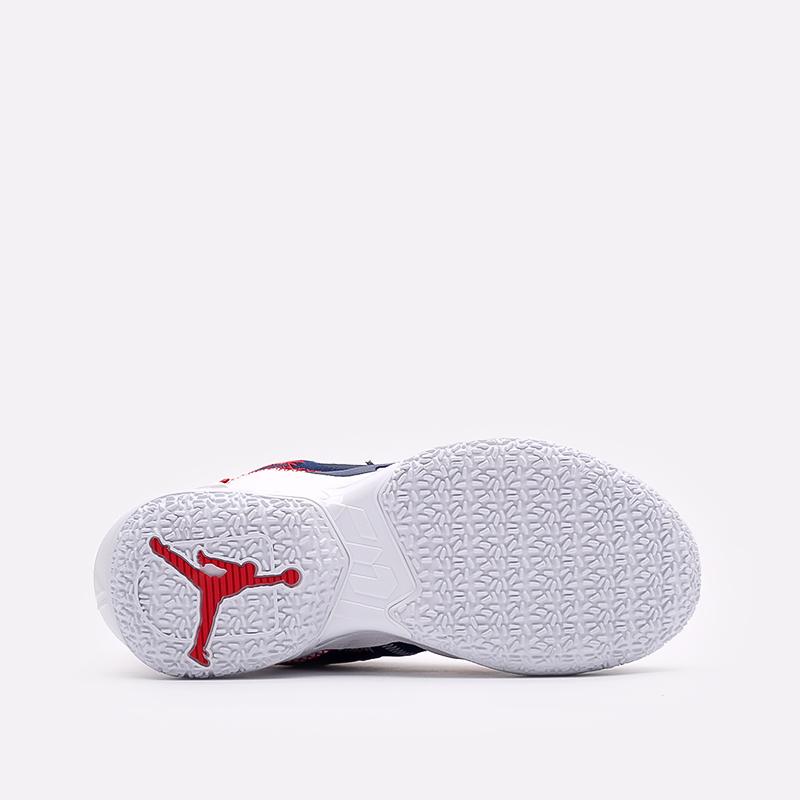 женские синие баскетбольные кроссовки Jordan Why Not Zero.4 (GS) DD9659-400 - цена, описание, фото 5