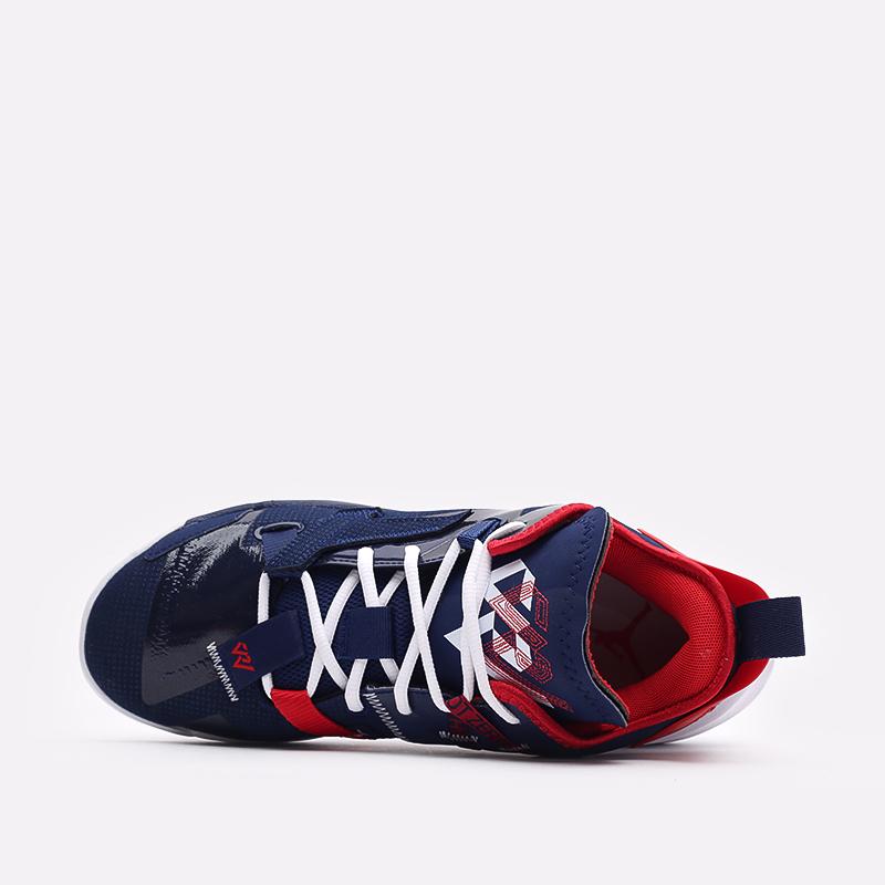 мужские синие  кроссовки jordan why not zero.4 DD4887-400 - цена, описание, фото 6